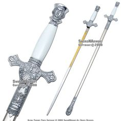 Faithful Navigator Knights of Columbus Ceremonial Sword Knights of Columbus Ceremonial Sword w/ Scabbard http://www.amazon.com/dp/B001S3XQKO/ref=cm_sw_r_pi_dp_6sgsub0H9YHF6