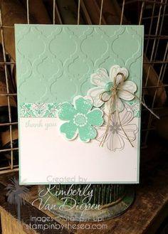 Kimberly Van Diepen, features Stampin' Up! flower shop ...