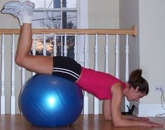 Pull Workout: Hip Extension on the Ball