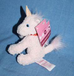 Inter American Plush Pink Unicorn 12 Quot Sparkly Horn Glitter