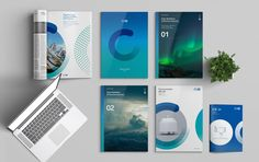 Branding and Digital agency Id Design, Book Design, Cover Design, Layout Design, Identity Card Design, Graphic Design Brochure, Branding Design, Brochure Cover, Brochure Layout