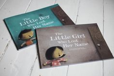 Lost My Name books are lovely, personalised books about little girls and boys who have lost their names.