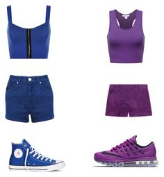 """""""Untitled #1028"""" by morticiame ❤ liked on Polyvore featuring NIKE, Miss Selfridge, Converse, Emilio Pucci and WearAll"""