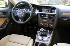 2012 Audi A4 Allroad Quattro Interior Wallpaper