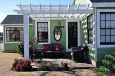 Great pergola patio decor