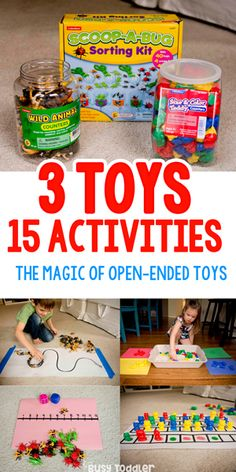 15 Ways to Turn Toys into Activities (sponsored by Lakeshore Learning) #lakeshorelearning #learnwithlakeshore #busytoddler #toddler #toddleractivity #easytoddleractivity #indooractivity #toddleractivities #preschoolactivities #homepreschoolactivity #playactivity #preschoolathome