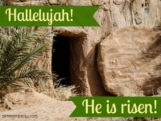 Jesus is Alive! :: The resurrection of Jesus and the empty tomb (Matthew Mark Luke John Jesus Is Risen, He Is Risen, Jesus Tomb, Jesus Christ, Free Bible Images, Christian Calendar, I Will Rise, Jesus Is Alive, Easter