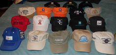 Golf Country Clubs Tee It Up US Open PGA Tour Etc. Golf Lot of 18 Strapback Hats #Various #BaseballCap Us Open, Strapback Hats, Hats For Sale, Baseball Cap, Golf, Tours, Club, Country, Fashion