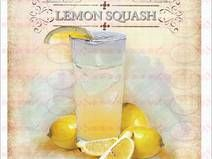 Bügelbild A4 Sommer Limonade Zitrone  1527