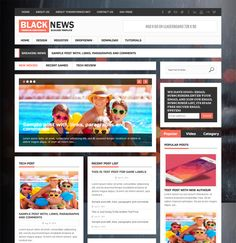 This flat Blogger theme offers a featured image slider, CSS3 and HTML5 code, an ad widget, a responsive layout, easy color, font, and background customization, support for Facebook, Disqus, and Blogger comments, and more.