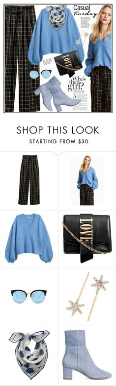 """""""Happy weekend Polyvorefriends ❤❤"""" by anne-irene ❤ liked on Polyvore featuring Jennifer Behr, Mint Velvet, H&M and HM"""