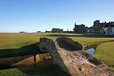 The Swilcan Bridge, St Andrews' Old Course