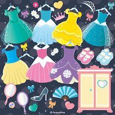 Art Clipart, Clipart Images, Princess Party, Film Princess, Baby Princess, Disney Princess, Princess Costumes, Princess Outfits, Disney Paper Dolls