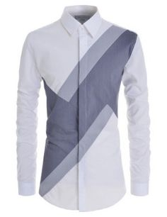 Square Metallic Beads Bling Studs Gems Stretchy Long Sleeve Shirts – Men's style, accessories, mens fashion trends 2020 Nigerian Men Fashion, African Men Fashion, Mens Fashion, Best Casual Shirts, Slim Fit Casual Shirts, Mens Designer Shirts, Designer Suits For Men, Short Sleeve Collared Shirts, Mens Kurta Designs