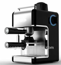 -4 cup espresso (240ml)  -3.5bar working pressure for rich taste coffee  - With frothing function for making cappuccino  - Stain