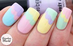 Video Tutorial: Pastel Clouds Manicure