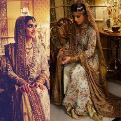 """#ZainabYousaf made a stunning bride last night in a traditional and gorgeous @farahtalibazizdh bridal """