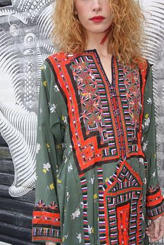 Green Afghani Dress | Flickr - Photo Sharing!