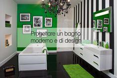 Progettare un bagno moderno e di design