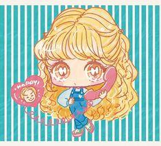 Cute Anime Chibi, Kawaii Anime, Princess Peach, Manga Anime, Dolls, Illustration, Anime Girls, Fictional Characters, Draw