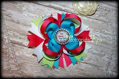 No Bow No Go Boutique Hair Bow by PinkHairBowBoutique on Etsy