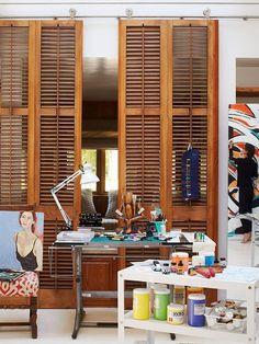 Life as it happens FROM MY FRONT DOOR #home #design #shutters