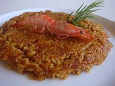 ARROZ SOCARRAT DE GAMBAS Y SEPIA ~ The Spanish Food