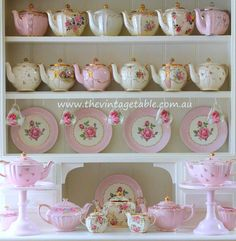 The Vintage Table | Vintage China Hire | Our Collection