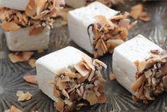 Toasted coconut bourbon marshmallows. OH MY