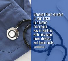 Managed Print Services Useful Tips for Doctors by Grafimedia SaaS Health IT Experts Printing Services, Doctors, Helpful Hints, Digital, Paper, Health, Tips, Useful Tips, Health Care