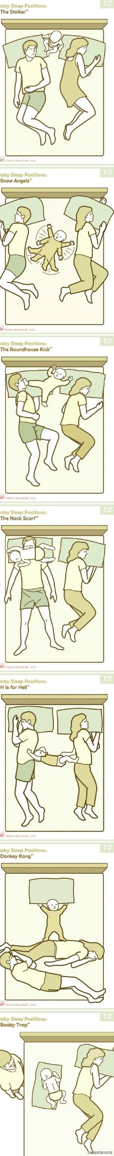 Perfect for my husband to see what co sleeping is like before our baby gets here lol,he'll change his mind! Lol