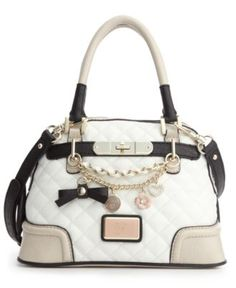 GUESS Handbag, Amour Small Dome Satchel - Juniors Handbags & Accessories - Macy's
