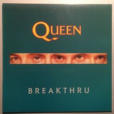 "Queen - Breakthru - HOLLAND - 12"" maxi + extended and single version + Stealin"