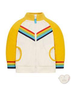 little bird by Jools rainbow tricot jacket