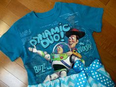Toy Story Buzz Lightyear Cowboy Woody Dress by MadiBethCreations, $29.50
