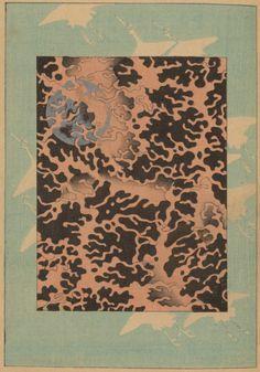 Pattern. Bijutsukai. v.55. 1900.