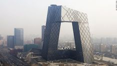 """There had been widespread debate in 2014 on whether Xi's remarks calling for an end to """"weird buildings"""" would spell the end of an era of ambitious architectural design in China. Rem Koolhaas' CCTV building in Beijing is one of the city's most recognizable structures."""