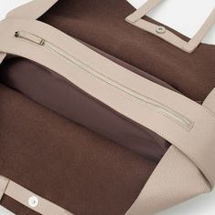Image 5 of CONTRASTING TOTE BAG from Zara