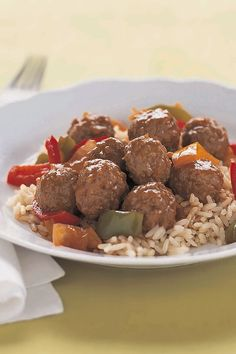 Simple Sweet 'N Sour Meatball Simmer – This incredibly delicious sauce is so simple to make and adds the perfect tangy flavor to prepared meatballs. Add it to your lineup of easy weeknight dinner recipes.