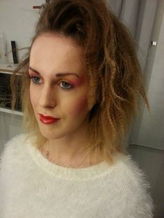 80`s hair and makeup by me