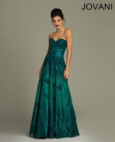 Jovani lace ball gown Dress 3677