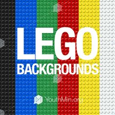 Download this great set of HD Lego Backgrounds! 6 different slides with different colors, that will be great for using with a lego themed night, game, or talk!