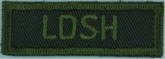LDSH (Lord Strathcona's Horse) (Canadian Army) Green On Olive Non-British Army shoulder title for sale Canadian Army, British Army, Commonwealth, Armed Forces, Army Green, Empire, Lord, Military, Horses