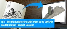 It's Time Manufacturers Shift from 2D to 3D CAD Model Centric Product Designs