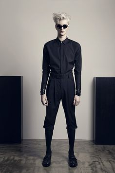 Benjamin Jarvis: CHRISTIAN DADA Spring/Summer 2014 Collection Look Book male-model-taku.blogspot