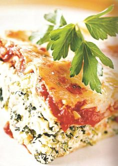 Eat Clean Lasagna from Tosca Reno's The Eat-Clean Diet Cookbook