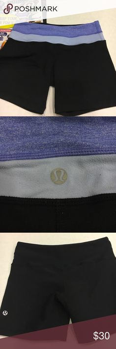 Lululemon Reversible shorts Excellent condition. 2 shorts in 1. Bag not included. lululemon athletica Shorts