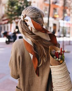 Love the headscarf in pony style ღ Awesome fashion clothes for stylish women from Zefinka.