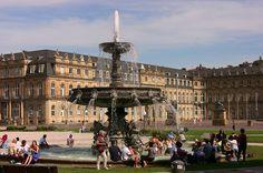 Schlossplatz, Stuttgart, Germany