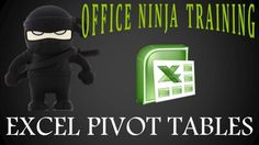 Excel Deep Dive: Pivot Tables Workshop with the Office Ninja - Excel data mastery is possible! Learn the ultimate Excel data analysis tool and learn how to use it to get a raise - $35 Data Analysis Tools, Ninja Training, Pivot Table, Learn Something New Everyday, Learning Goals, The Office, Ms, Workshop, Tables